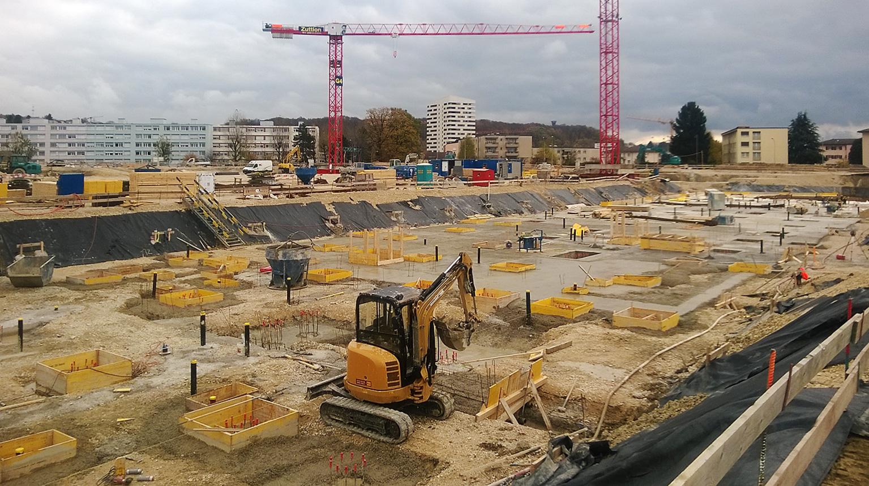 Lausanne stade la tuili re neubau fachplanung for Lausanner fussballstadion